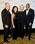 Police Commissioner Raymond W Kelly Ginny Barber Veronica Kelly and Tiki Barber attend The 30th Annual New York City Police Foundation Gala March 11...