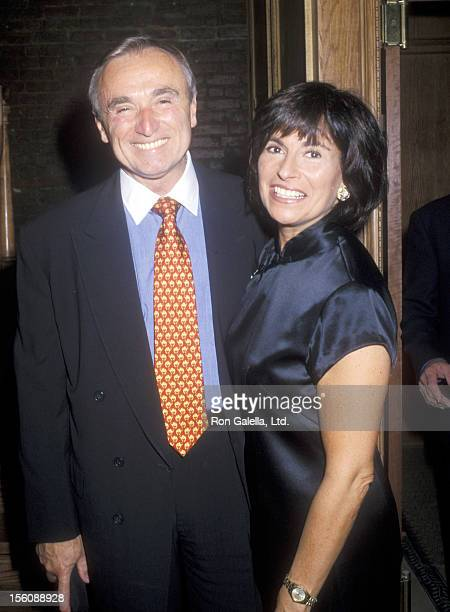 Police Commissioner William J Bratton and wife Rikki Klieman attend the Grand Opening Celebration of The Landmark Club and Restaurant in conjuction...