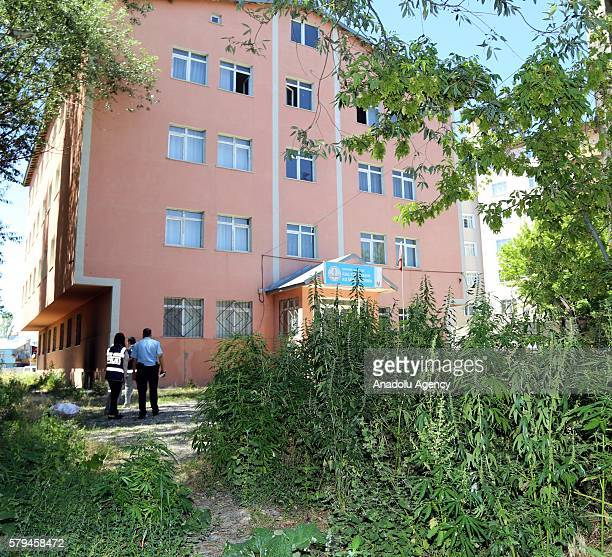 Police conduct an operation at a girls' dormitory after Parallel State/Gulenist Terrorist Organization's 15th of July's failed military coup attempt...
