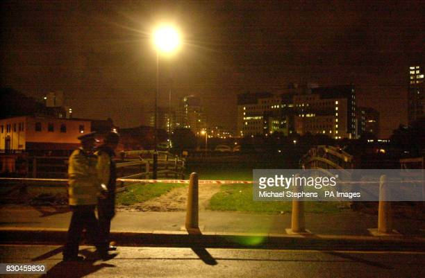 Police discovered part of a rocket launcher in the Spring Gardens area of Vauxhall Cross near to the MI6 building in London Antiterrorist police...