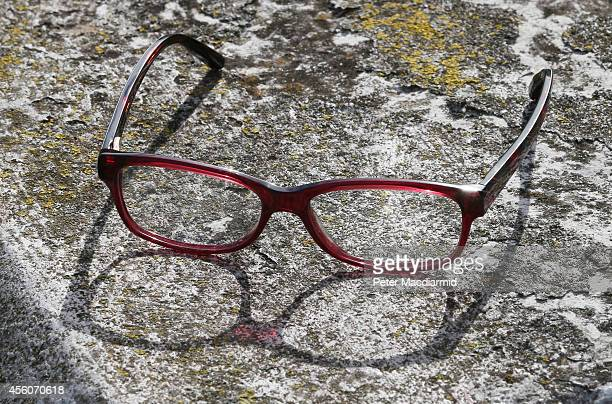 Police display a pair of spectacles identical to the those worn by missing schoolgirl Alice Gross during a reconstruction of her last known movements...