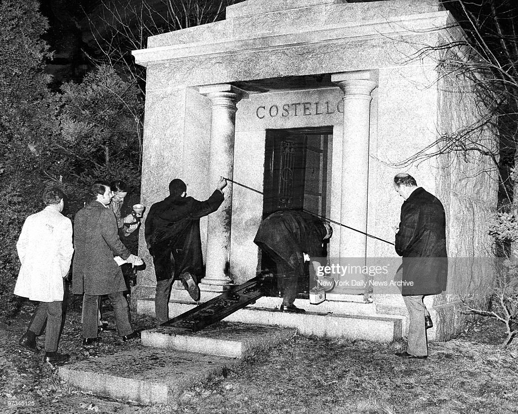 Image result for frank costello mausoleum