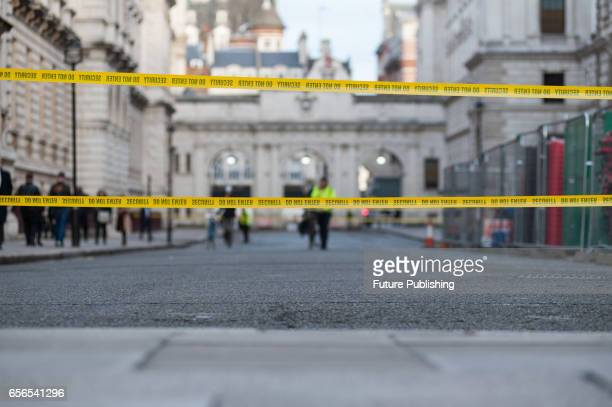 Police forces have cordoned off an area around the Houses of Parliament following a suspected terrorist attack in which 4 people including a police...