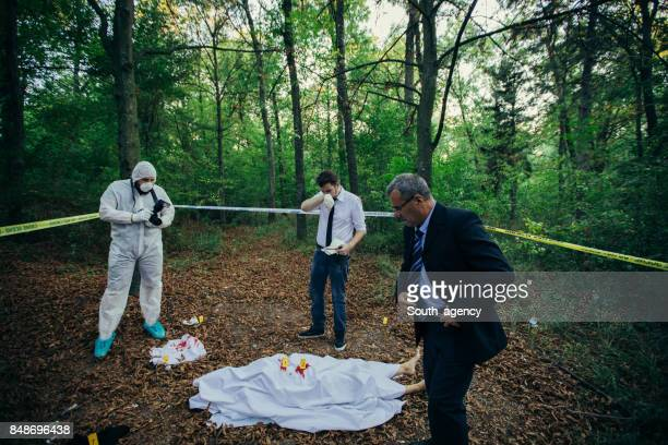 Police found a dead body