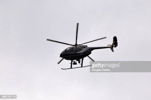 Police Helicopter on patrol