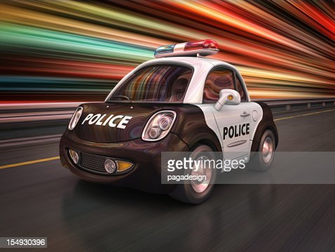 Polizei in der Stadt : Stock-Foto