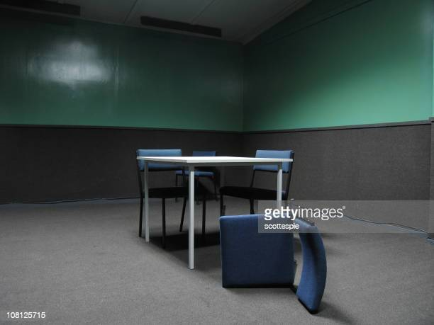 police interrogation room