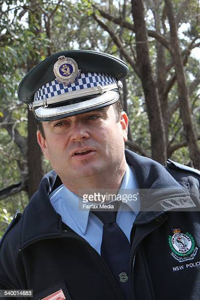 Police investigate the site where human remains were found at Belanglo State Forest in the Southern Highlands of NSW Acting Superintendent Evan...