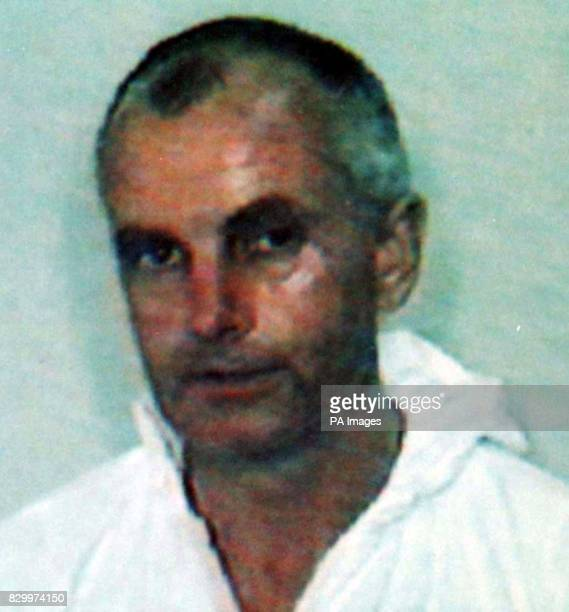 Police issued photo of animal rights activist Barry Horne who is due to be sentenced today after launching a fire bombing campaign against High...