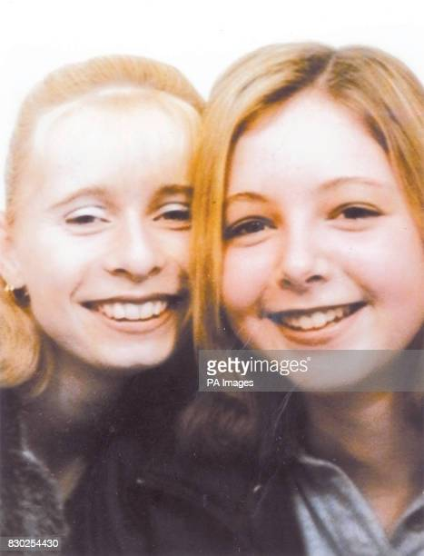 Police issued photo of Gemma Algar and her best friend Vicky Hall Gemma broke down in tears during a news conference as she told how she and the...