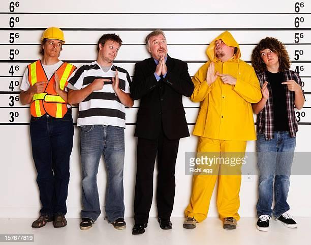 Polizei Lineup