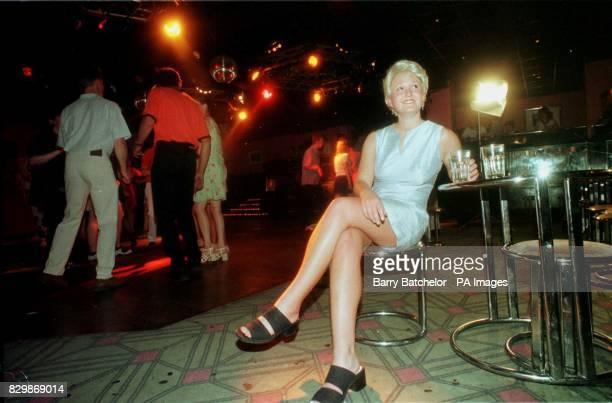 A police officer dressed as missing Melanie Hall sits at the edge of the dance floor in 'Cadillacs' nightclub Bath Melanie was last seen here six...