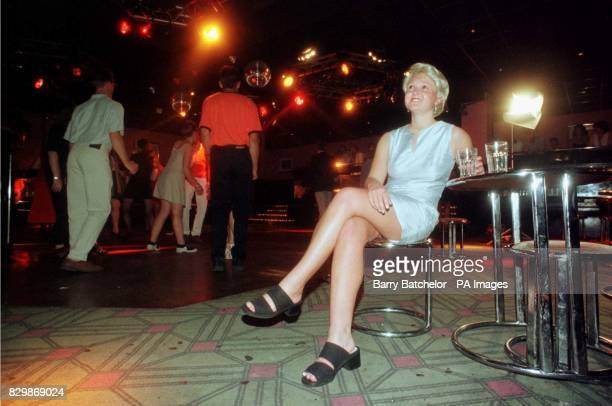 A police officer dressed as missing Melanie Hall sits at the edge of the dance floor in 'Cadillacs' nightclub Bath Melanie was last seen in this...