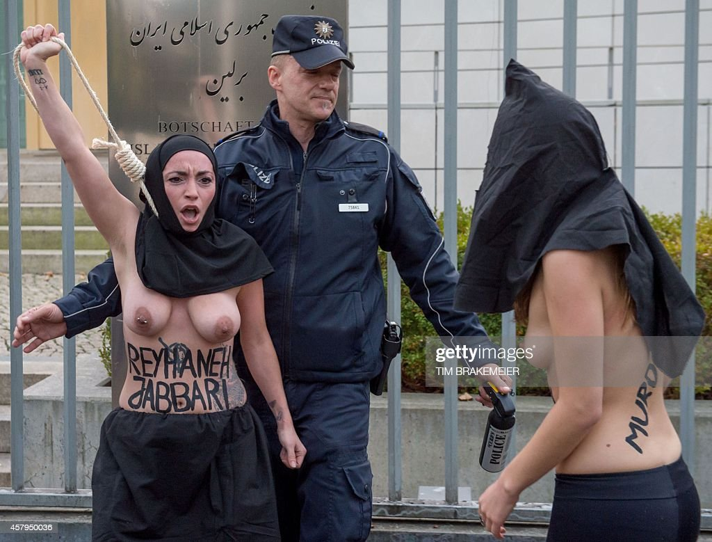 iran girls police sexy nude photo