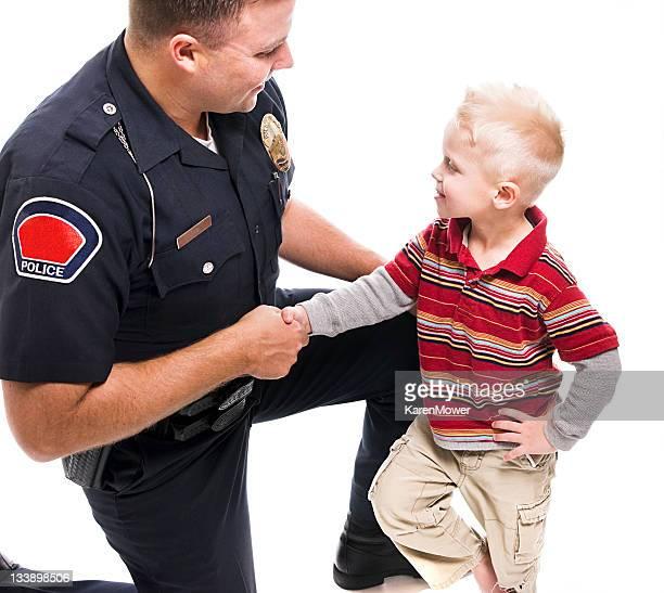 Police Officer Handshake