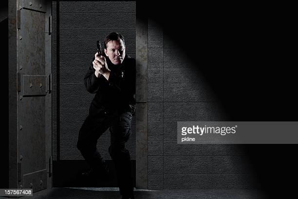 Polizist für Verdächtige