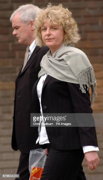 Police officer Pamela Browne who's son Charles Browne was sentenced to 10 years for manslaughter after he killed a young mother by driving the wrong...