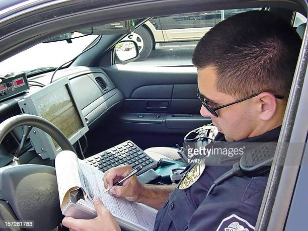 Police Officer Writing Ticket 4