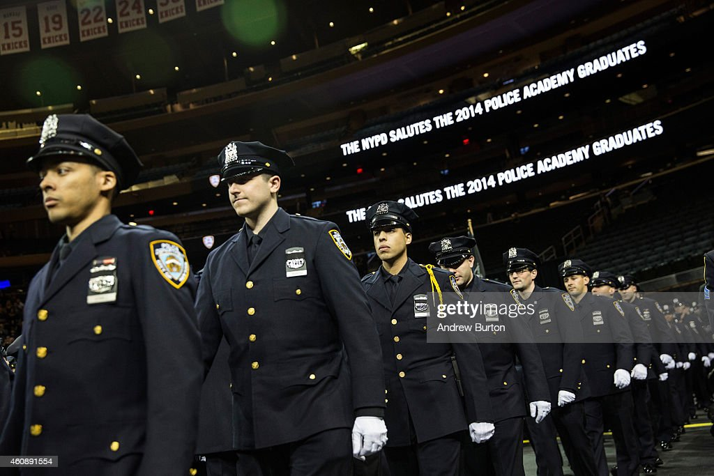 Police officers attend their new york police department - Garden city police department ny ...
