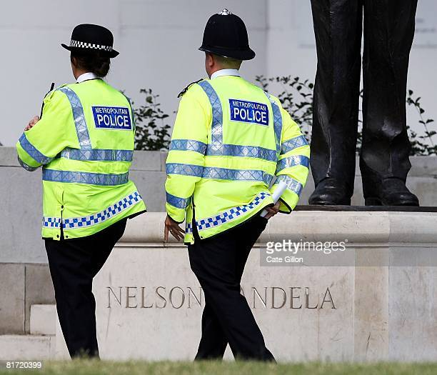 Police Officers on duty in the Westminster area on June 26 2008 in London England The Assistant Commissioner of the Metropolitan Police Tarique...