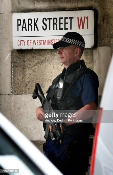 Police officers raid Park Lane Safe Deposit Mayfair in connection with suspected money laundering operations London Police have began searching...