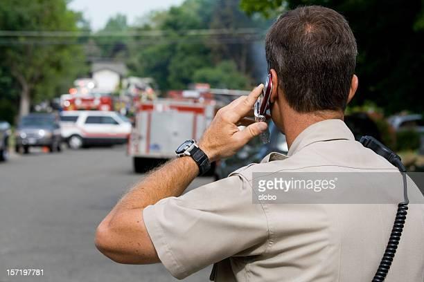 Polizei zu rufen