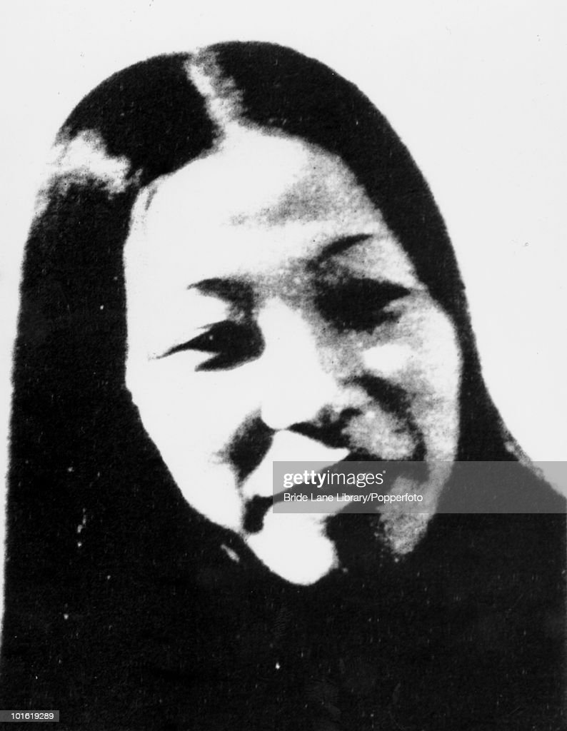 A police photo of Fusako Shigenobu the founder and leader of the farleft terrorist group the Japanese Red Army 1974