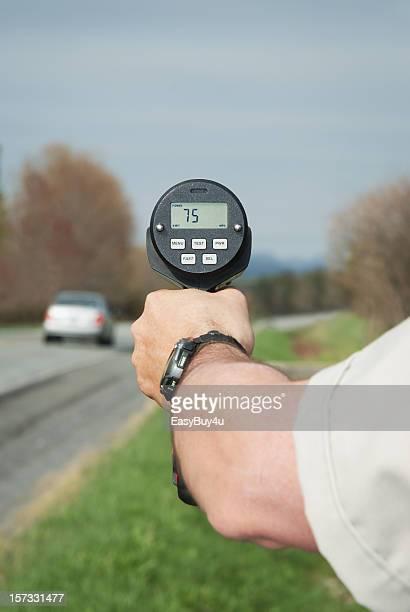 Polizei radar Betrieb