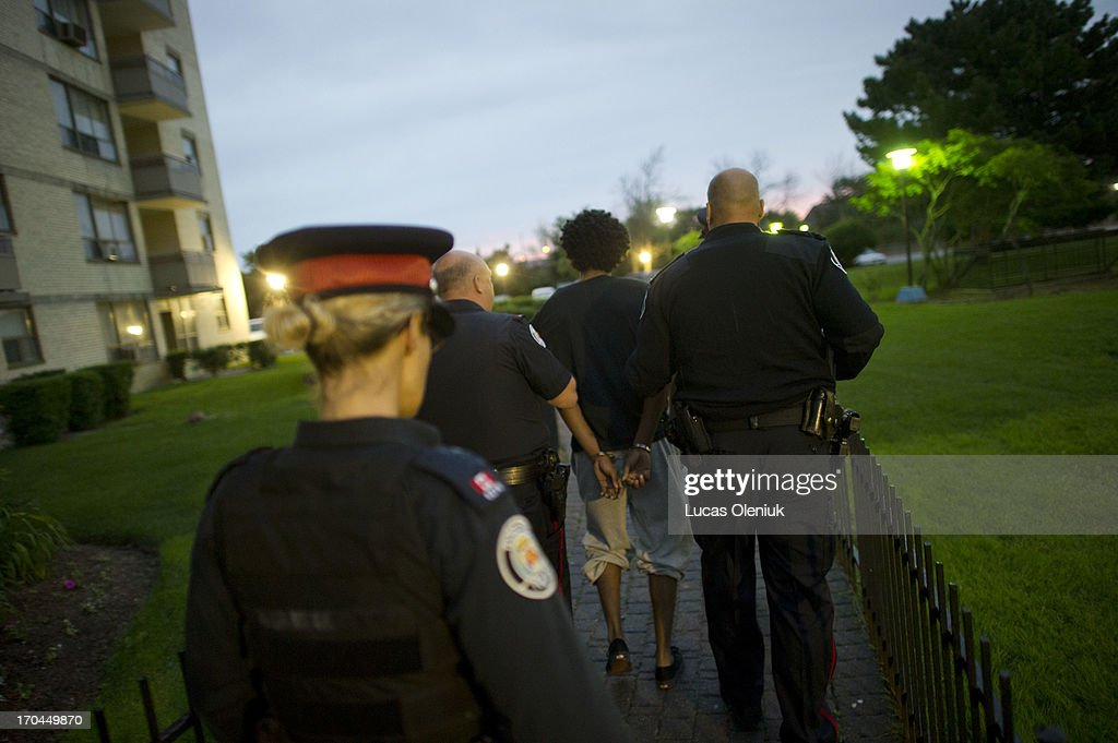 Police raided the apartments at 390 Kingsview on Thursday morning and arrested this man. Toronto Police launched massive predawn raid, as part of Project Traveller, targeting guns and drugs, and focusing on the Toronto neighbourhood thats ground zero for the Mayor Rob Ford crack video scandal.