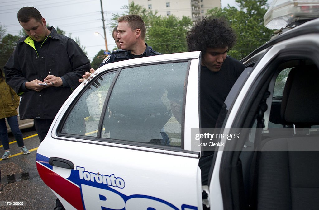 Police raided the apartments at 390 Kingsview on Thursday morning in search of a number of suspects including Munir Kasim who was arrested across the street at a Country Style cafe. Toronto Police launched a massive predawn raid on June 13, 2013, targeting guns and drugs. The focus is on the Toronto neighbourhood thats ground zero for the Mayor Rob Ford crack video scandal.