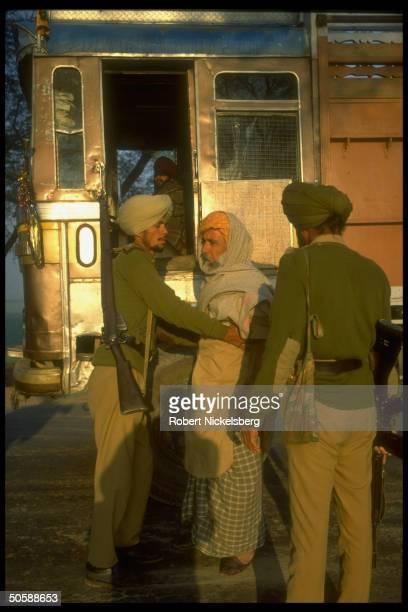 Police searching local man Bhikhiwind Punjab