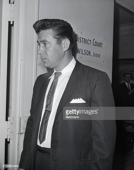 Police Sgt Patrick T Dean is shown outside courtroom after he had testified in the Jack Ruby murder trial After crossexamination of Dean the State...