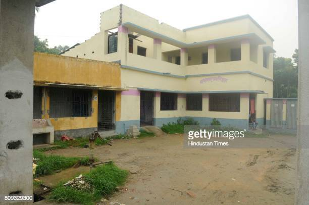 Police station of Baduria where communal violence took place after protests over an objectionable social media post on July 5 2017 in North 24...