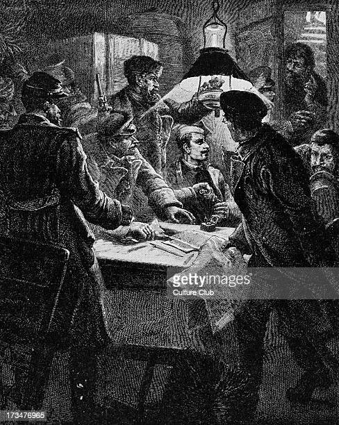 Police surprising meeting of Russian anarchists Government repression of the Nihilist movement followed unrest after end of Russo Turkish War in 1878