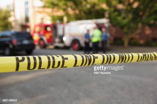 Police tape marks the crime scene after a shooting at Seattle Pacific University on June 5 2014 in Seattle Washington A gunman is in custody after...