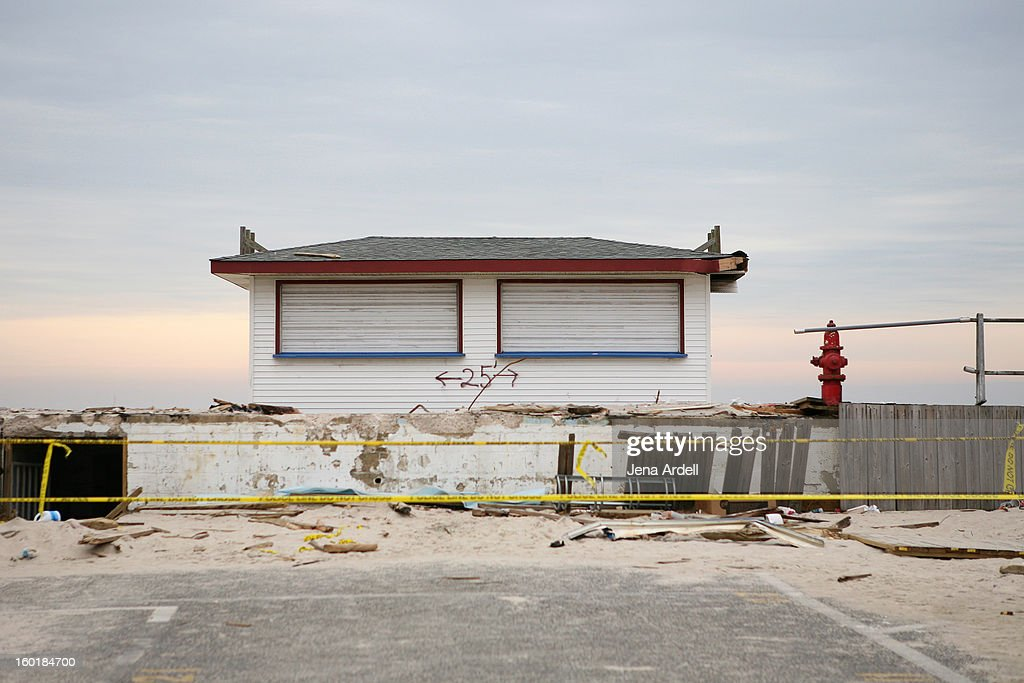 CONTENT] Police tape prevents people from accessing the damaged Seaside Heights boardwalk, nearly three months after Hurricane Sandy struck the Jersey Shore. Seaside Heights was recently awarded $3.6 Million to rebuild the boardwalk by Memorial Day.