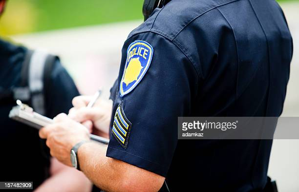 Police Writing Ticket