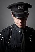 Policeman portrait