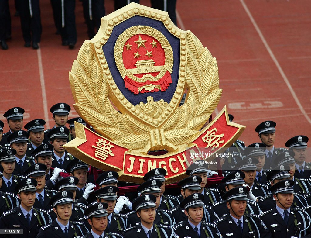 police parade held in changchun photos and images getty images