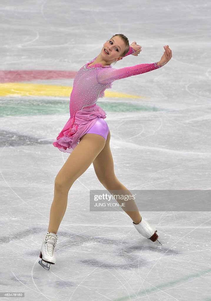 <a gi-track='captionPersonalityLinkClicked' href=/galleries/search?phrase=Polina+Edmunds&family=editorial&specificpeople=11711394 ng-click='$event.stopPropagation()'>Polina Edmunds</a> of the US performs in the ladies' free skating during the ISU Four Continents Figure Skating Championships in Seoul on February 15, 2015.