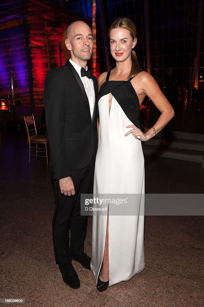 Polina Proshkina (R) and guest attend the 10th annual Apollo Circle benefit at the Metropolitan Museum of Art on November 14, 2013 in New York City.