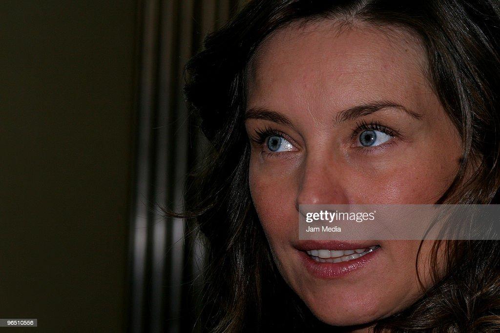 Polish actress Dominika Paleta attends the opening of the Bikram Yoga Studio at the Bikram Yoga Santa Fe on February 8, 2010 in Mexico City, Mexico.