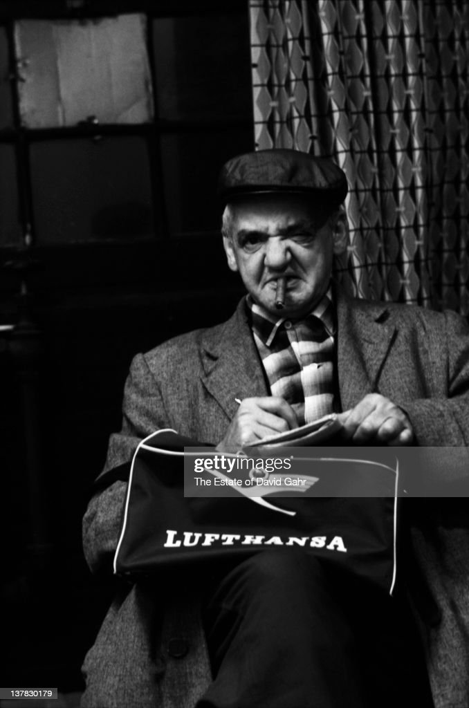 Polish born photojournalist Arthur Fellig (1899-1968), known as '<a gi-track='captionPersonalityLinkClicked' href=/galleries/search?phrase=Weegee&family=editorial&specificpeople=207086 ng-click='$event.stopPropagation()'>Weegee</a>', poses for a portrait in November 1959 in New York City, New York.