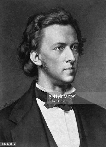 Polish composer and pianist Frederic Chopin
