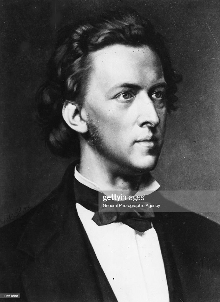 Polish composer and pianist Frederick Francois Chopin (1810 - 1849). Original Publication: People Disc - HJ0255