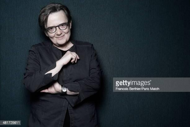 Polish filmmaker Agnieszka Holland is photographed for Paris Match on April 27 2013 in Paris France