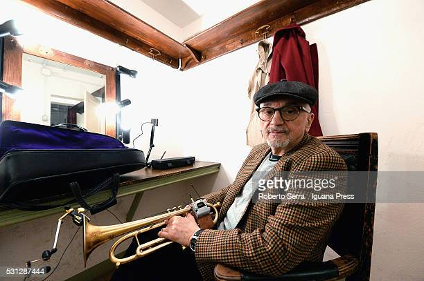 Polish musician and author Tomasz Stanko performs at Teatro Duse on May 13 2016 in Bologna Italy