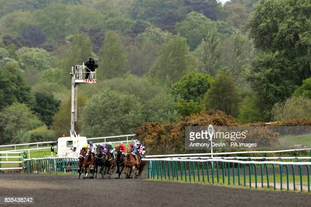 Polish Power ridden by Liam Keniry go on to win the Treecreeper Claiming Stakes at Lingfield Racecourse Surrey
