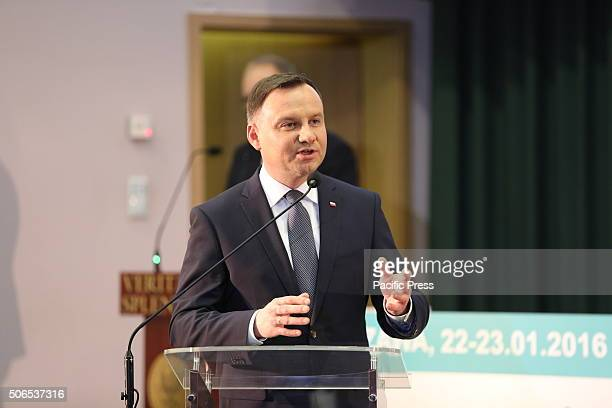 Polish President Andrzej Duda attended the 50th anniversary symposium of the first successful kidney transplant in Poland It was hosted by the Polish...