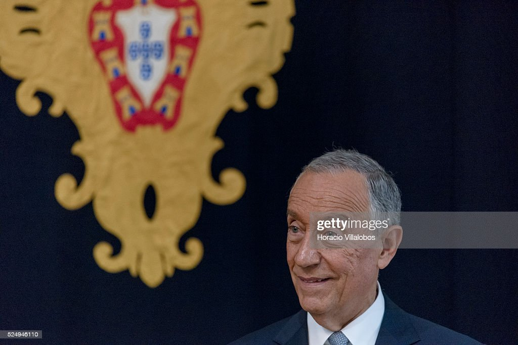 The Polish President Meets With The Newly-Elected President Of Portugal